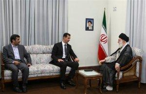Ali Khamenei Bashar Assad