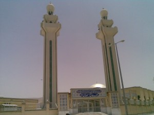 Jaame'eh (main) Sunni mosque of Evaz city