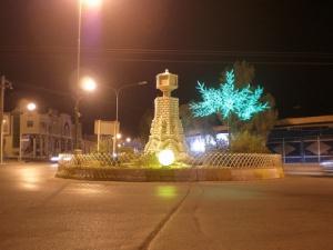 Imam Shafi'i Square in Evaz