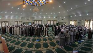 """Imam Bukhari declared: """"I don't see any difference between praying Salah behind a Jahmi or a (Shia) Rafidhi and a Christian or a Jew. They (Jahmis/Rafidhis) are not to be greeted, nor are they to be visited, nor are they to be married, nor is their testimony to be accepted, nor are their sacrifices to be eaten."""" (Khalq Af'aalul-'Ibaad, p.14)"""