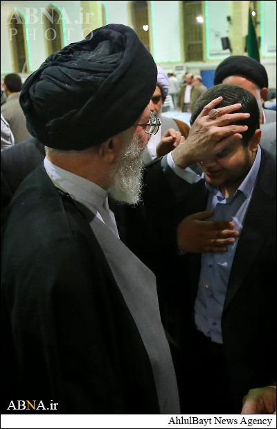 'Sunni' who literally can't wait to seek blessings from the crippled hand of Khamenei. Well, that's what 'true' Sunni do and seek after all, isn't it?