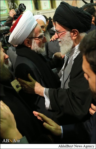 Khamenei's look alive from the Levant. Reminds one of the verse: ' their hearts are much alike' (Baqarah, 118)