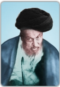 A portrait of the flaming accursed looking Zindiq, Ni'matullah al-Jaza'iri